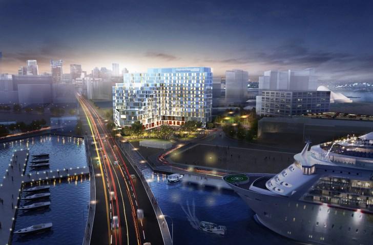 Marine Wharf Hotel Updated Design